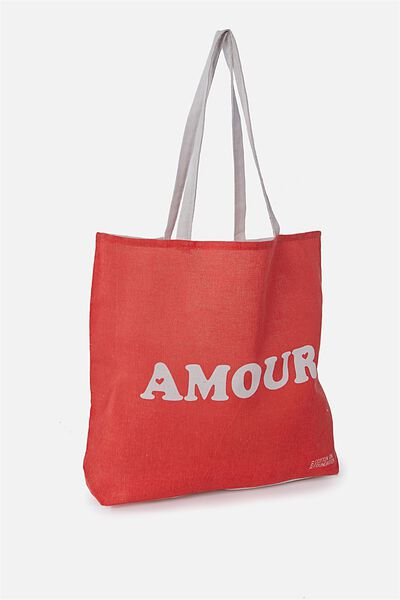 Rubi Foundation Tote, AMOUR RUBI