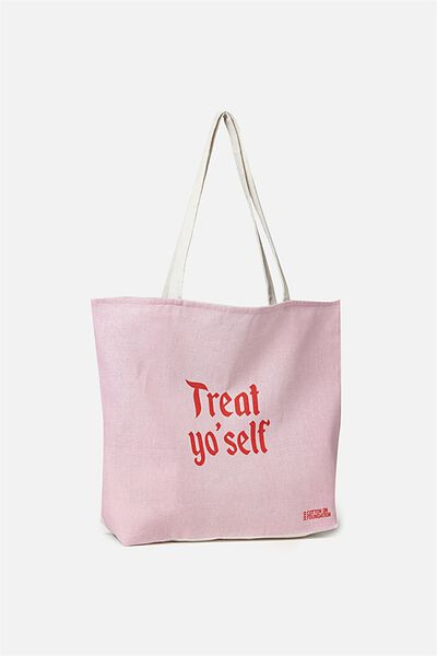 Cotton On Foundation Tote, TREAT YOU SELF