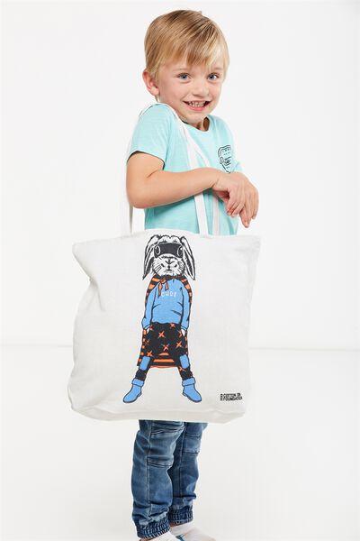Foundation Kids Tote Bag, BUNNY BANDIT