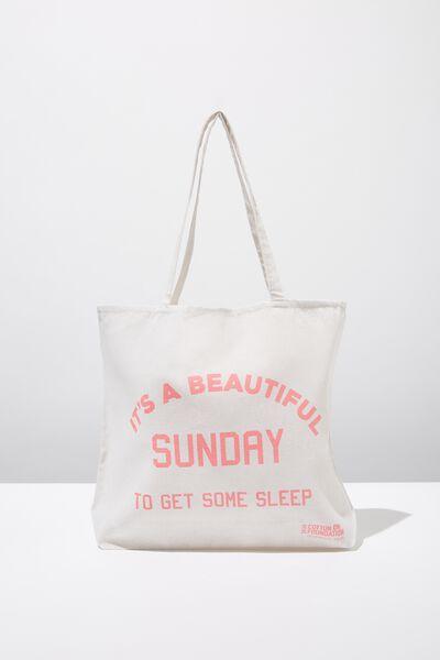 Body Tote Bag, SUNDAY SLEEP