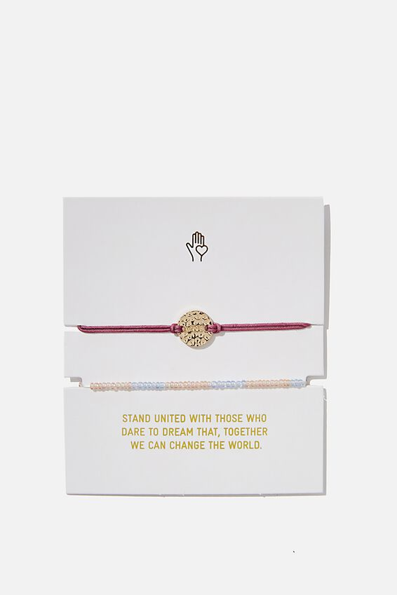 Foundation Charm Friendship Bracelets, HEATHER ROSE