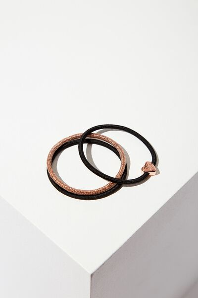 Juliet Band Pack, BLACK ROSE GOLD