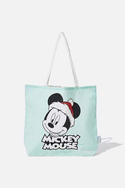 Foundation Tote Bag Adults, LCN MICKEY XMAS
