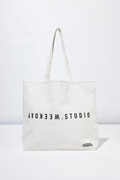 Foundation Tote Bag Adults, WEEKDAY STUDIO