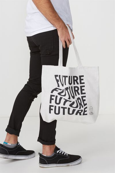 Pf Foundation Tote Bags, FUTURE