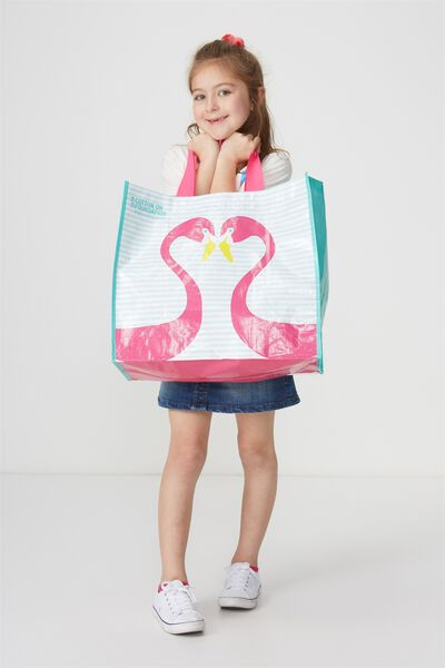 Foundation Kids Tote Bag, GIRLS CAN HAVE SUN