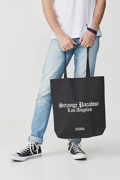 Cotton On Foundation Tote, STRANGE PARADISE