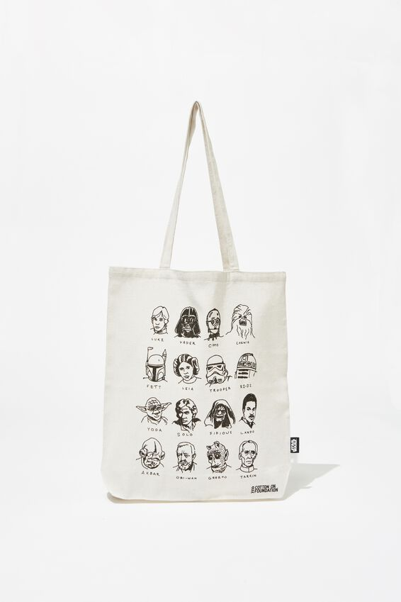 Foundation & Friends Tote Bag, STAR WARS CAST