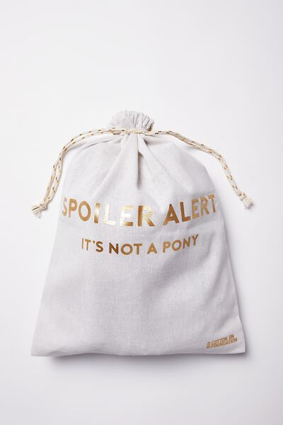 Medium Online Gift Bag, SPOILER ALERT