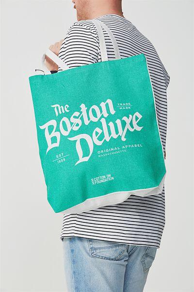 Cotton On Foundation Tote, BOSTON DELUX