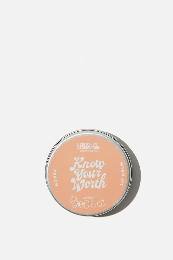 Typo Difference Lip Balm, KNOW YOUR WORTH