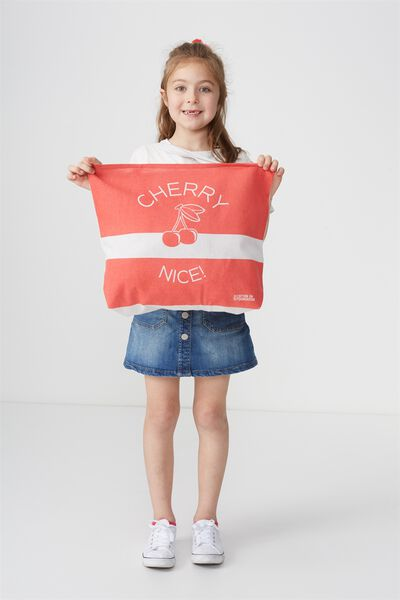 Foundation Kids Tote Bag, CHERRY NICE