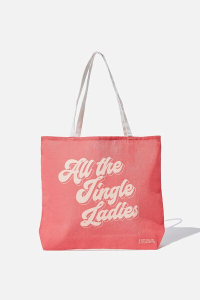 Body Tote Bag, JINGLE LADIES