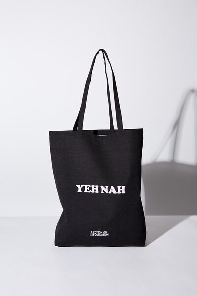Foundation Online Exclusive Totes, YEAH NAH