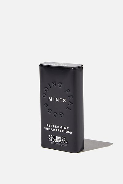 Foundation Mints, CHARCOAL PEPPERMINT