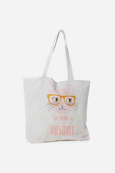 Foundation Kids Tote Bag, THE FUTURE IS BRIGHT RSA