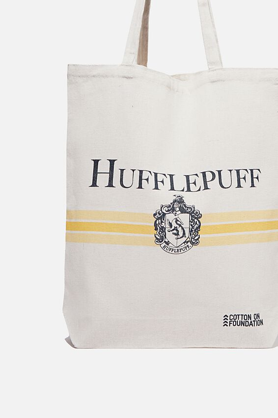 Foundation & Friends Tote Bag, HUFFLEPUFF