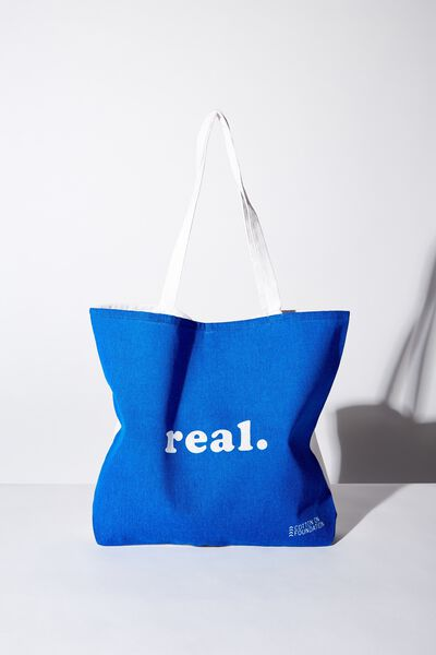 Body Tote Bag, REAL BLUE