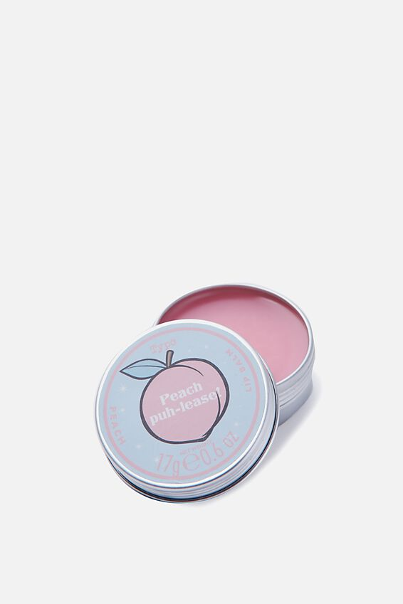 Typo Difference Lip Balm, PEACH PUH-LEASE