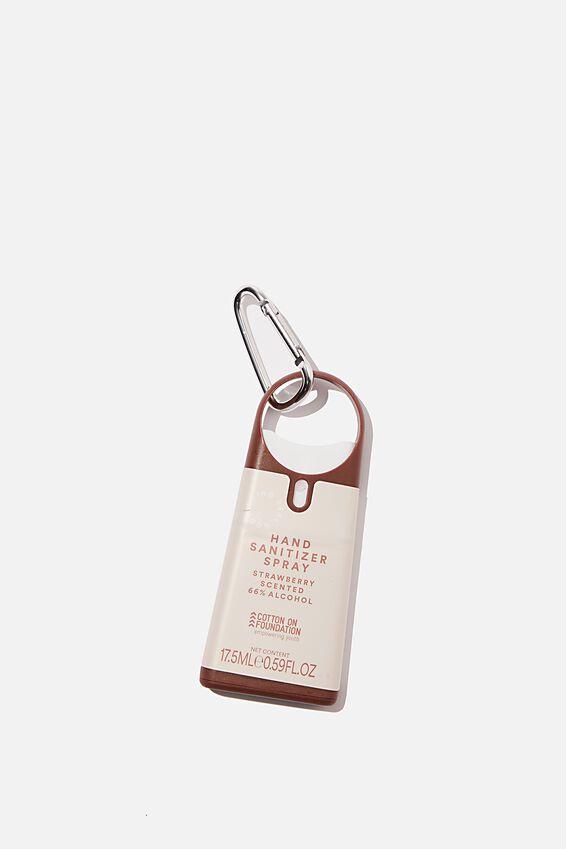 Foundation Hand Sanitiser Spray, PINK STRAWBERRY