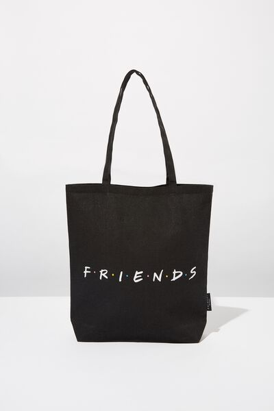 Foundation & Friends Tote Bag, BLK FRIENDS