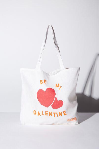 Body Tote Bag, GALENTINE