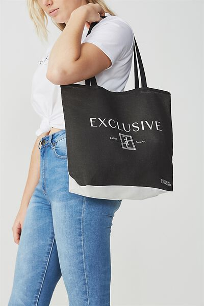 Cotton On Foundation Tote, EXCLUSIVE