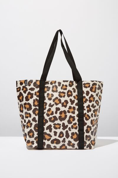 Supre Large Tote Bag, LEOPARD