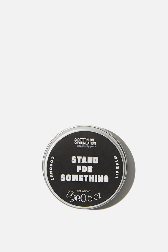 Typo Difference Lip Balm, STAND FOR SOMETHING