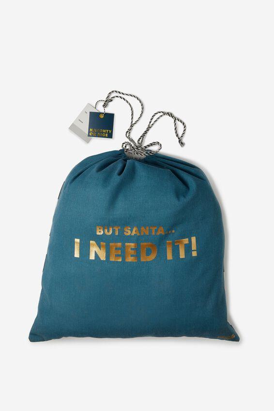 Christmas Gift Bag- Large, I NEED IT