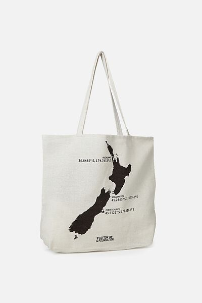 Cotton On Foundation Tote, NZ MAP