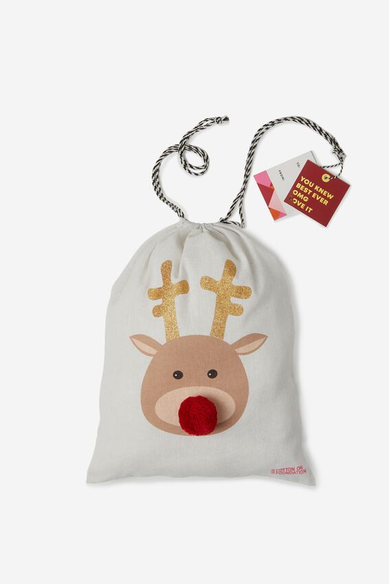 Cof Small Gift Bags, REINDEER