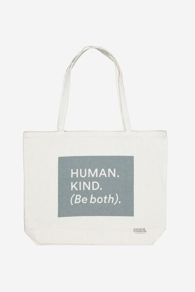 Foundation Tote Bag, HUMANKIND