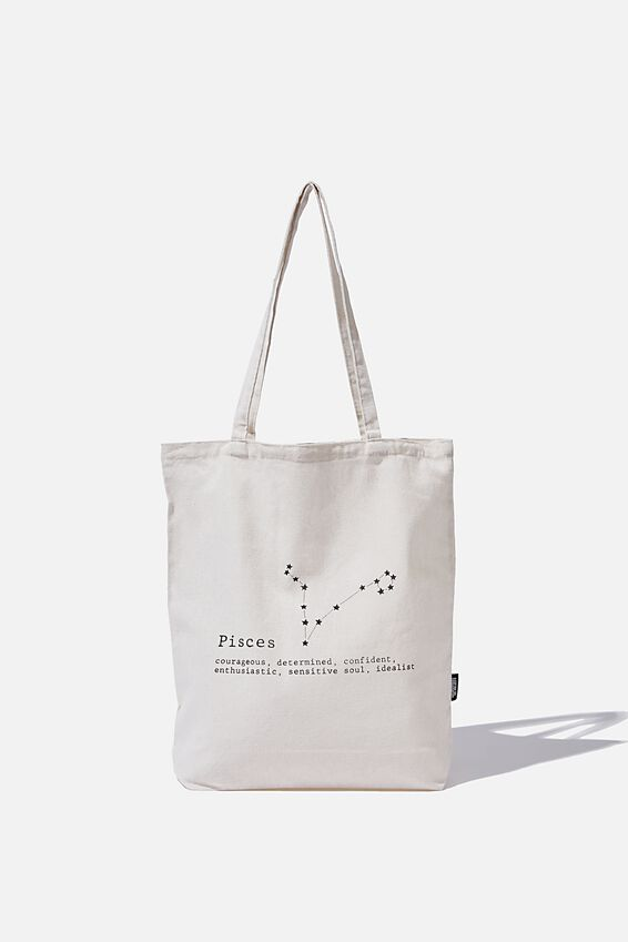 Foundation Online Exclusive Star Sign Tote, PISCES