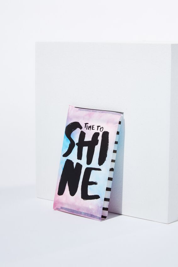 Typo Difference Tissues, SHINE