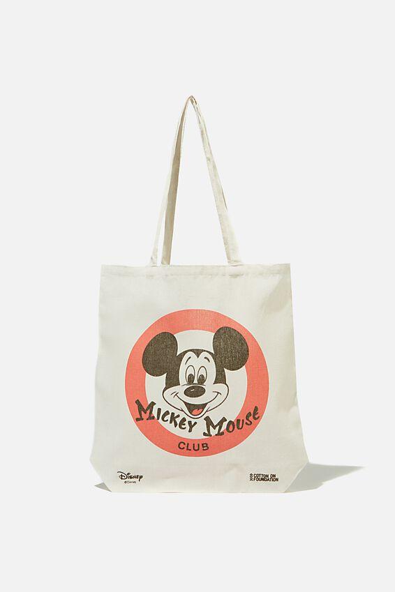 Foundation & Friends Tote Bag, MICKEY CLUB