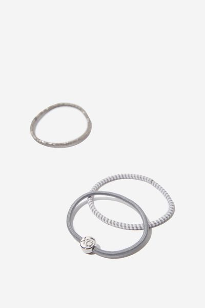Juliet Band Pack, GREY SILVER XO
