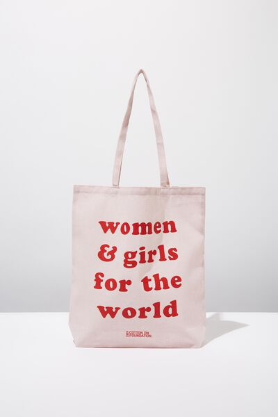Foundation Online Exclusive Totes, FOR THE WORLD