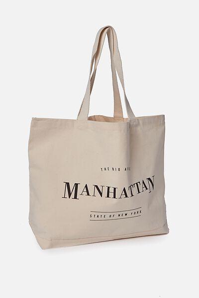 Foundation Online Destination Tote, MANHATTAN