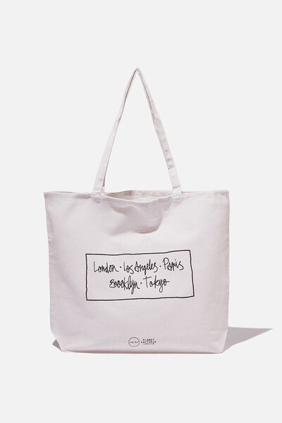 Factorie  Foundation Tote Bags, CITIES