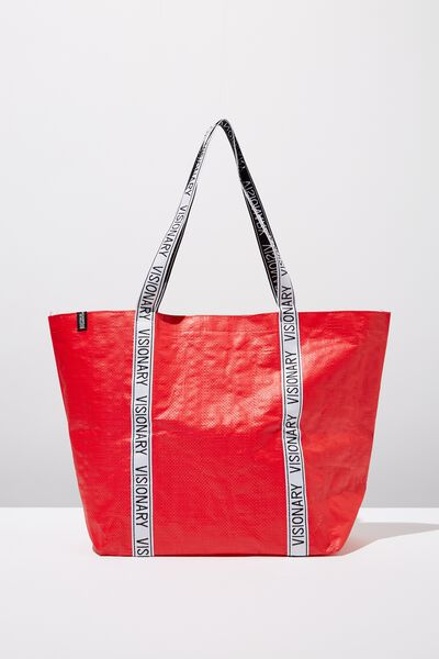 Cof Large Shopper, RISK RED