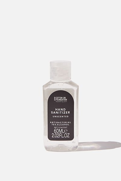 Foundation Hand Sanitiser Gel 60Ml, BLACK