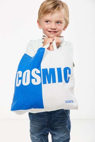 Foundation Kids Tote Bag, COSMIC