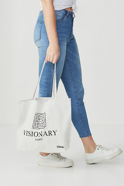 Cotton On Foundation Tote, VISIONARY