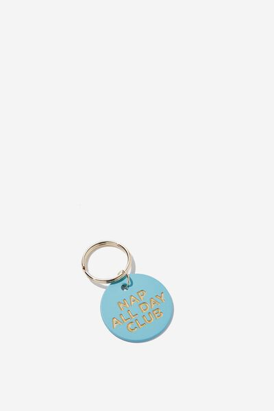 Cof Quote Keyring, NAP