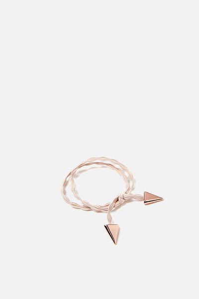 Laura Hair Band Pack, BEIGE ROSE GOLD