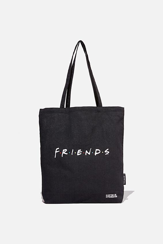 Foundation & Friends, LCN WB FRIENDS LOGO BLACK