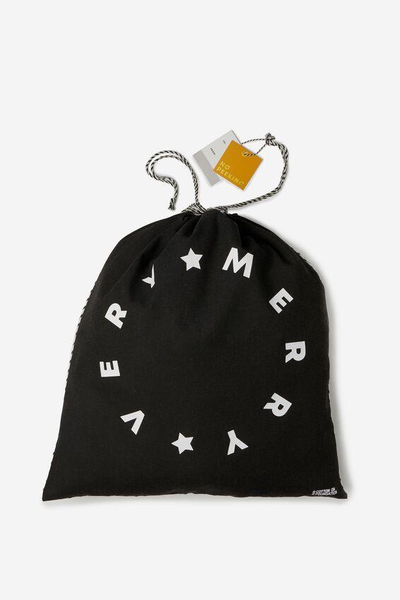 Christmas Gift Bag- Large, MERRY VERY