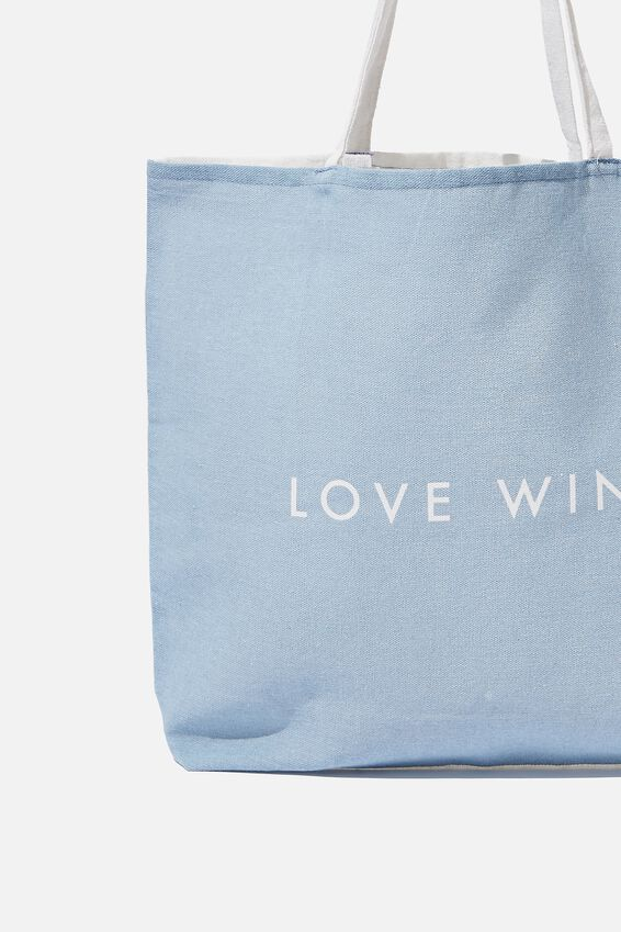 Foundation Tote Bag Adults, DD LOVE WINS