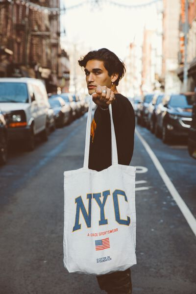 Cotton On Mens Foundation Tote, NYC FLAG
